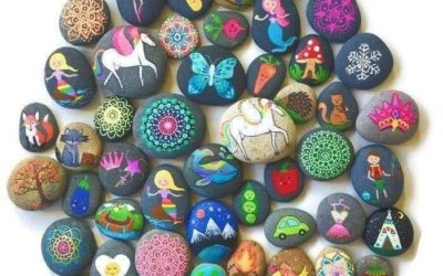 Adult Only Rock Painting 08-21