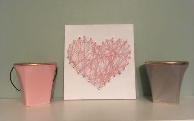 Heart String Art 02-08-2020